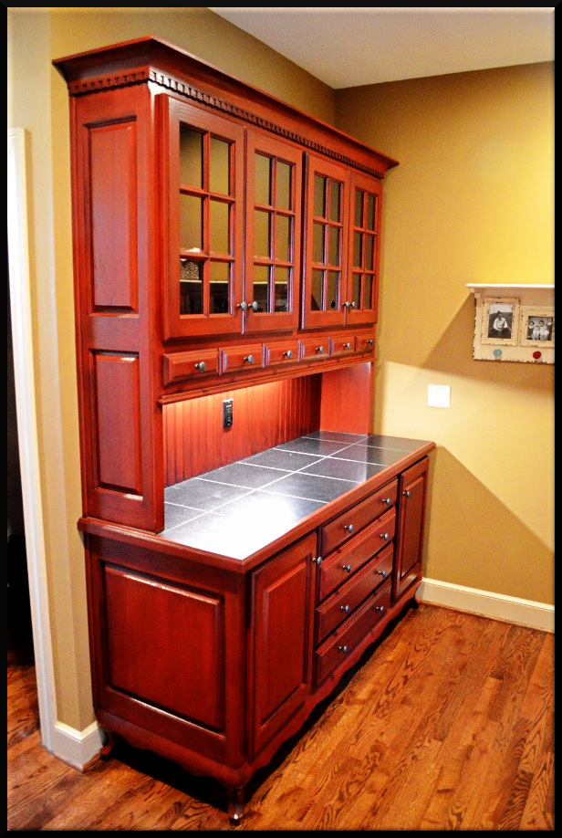 Bulter pantry cabinet refinish