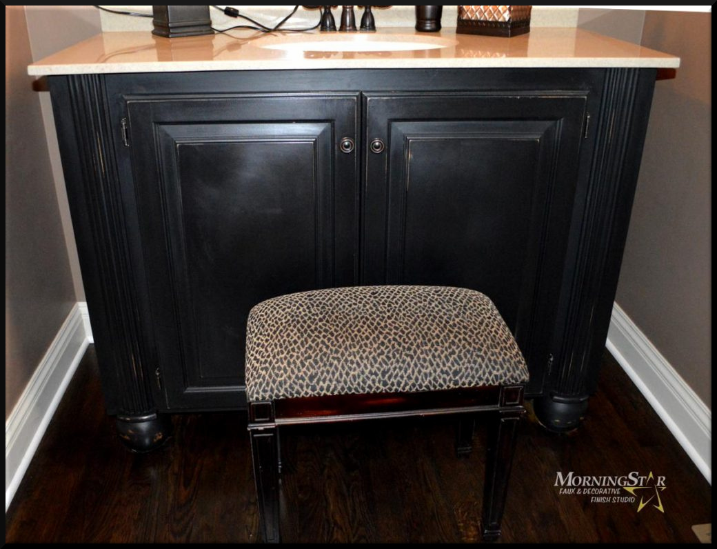 Kansas City cabinet refinishing by MorningStar
