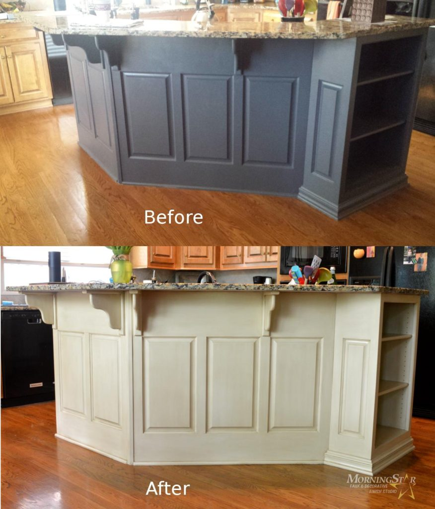 11 Lovely Restoring Kitchen Cabinets: Cabinet Refinishing Before And After