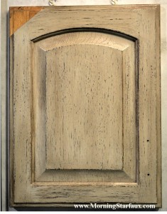 Sample of our  new cabinet finish